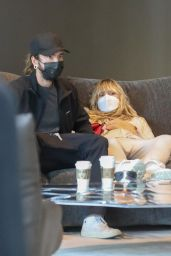 Heidi Klum and Tom Kaulitz - Shop For Furniture at Edra in West Hollywood 09/29/2021