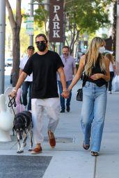 Heidi Klum and Tom Kaulitz - Shopping in Beverly Hills 09/22/2021