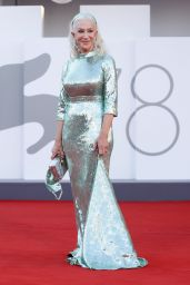 """Helen Mirren - """"Parallel Mothers"""" Premiere at the 78th Venice International Film Festival 09/01/2021"""