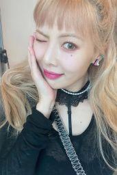 HyunA - Live Stream Video and Photos 09/12/2021