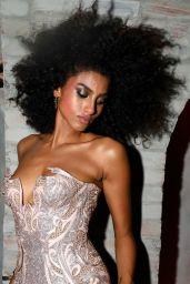 Imaan Hammam at Rihanna Hosts Annual Met Gala After Party at Davide 09/13/2021