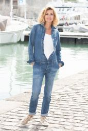 """Ingrid Chauvin - """"Demain Nous Appartient"""" Photocall at the 23rd TV Fiction Festival at La Rochelle"""