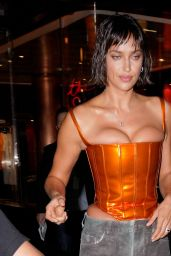 Irina Shayk at the Bulgari Party at Le Bain in NYC 09/08/2021