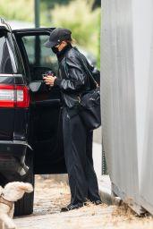 Irina Shayk in All Black - New York 09/17/2021
