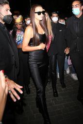 Irina Shayk - Leaving the Versace Runway Show in Milan 09/24/2021
