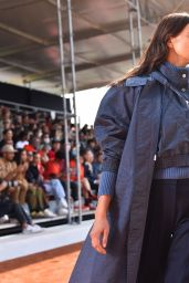 Irina Shayk Walking Boss Fashion Show at the Milan Fashion Week 09/23/2021
