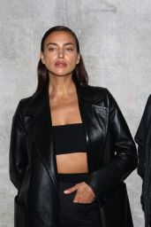 Irina Shayk Walks Max Mara Ready to Wear Spring/Summer 2022 Fashion Show in Milan 09/23/2021