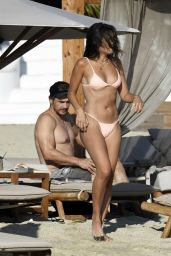 Isabel Pakzad and James Franco at Branco Beach in Mykonos 07/06/2021