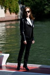 Isabelle Huppert - Arriving at the Hotel Excelsior in Venice 09/03/2021