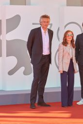 """Isabelle Huppert - """"Les Promesses"""" Premiere at the 78th Venice International Film Festival 09/01/2021"""