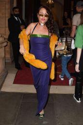 Jamie Winstone - Icon Party with Grace Jones in London 09/17/2021