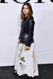 Jenna Coleman – Dior Show at Paris Fashion Week 09/28/2021
