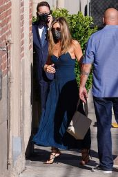 Jennifer Aniston - Arriving at Jimmy Kimmel Live in Hollywood 09/13/2021