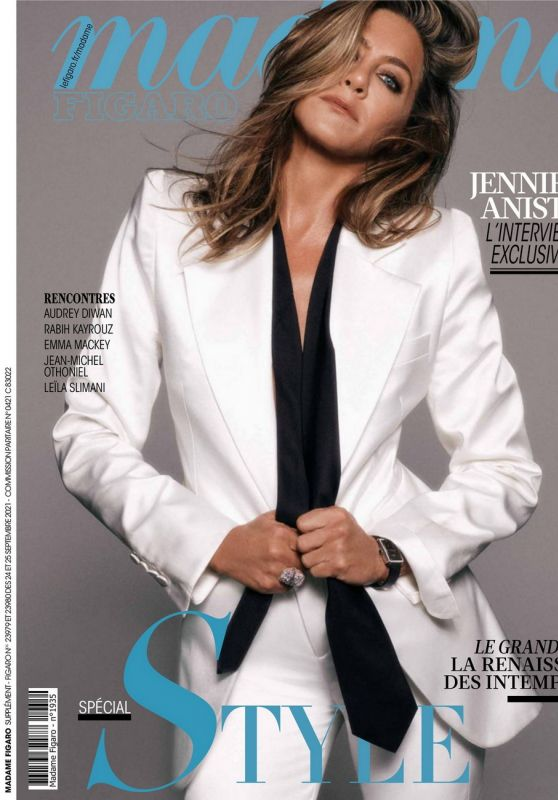 Jennifer Aniston - Madame Figaro 09/24/2021 Issue