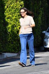 Jennifer Garner - Out For a Walk in Brentwood 09/17/2021