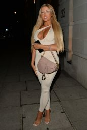 Jess Gale and Eve Gale at MKNY House in Mayfair 09/29/2021