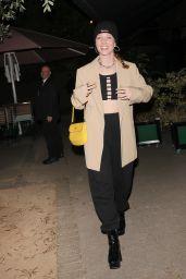 Jess Glynne at Vas J Morgan Star-Studded London Fashion Week Party 09/23/2021