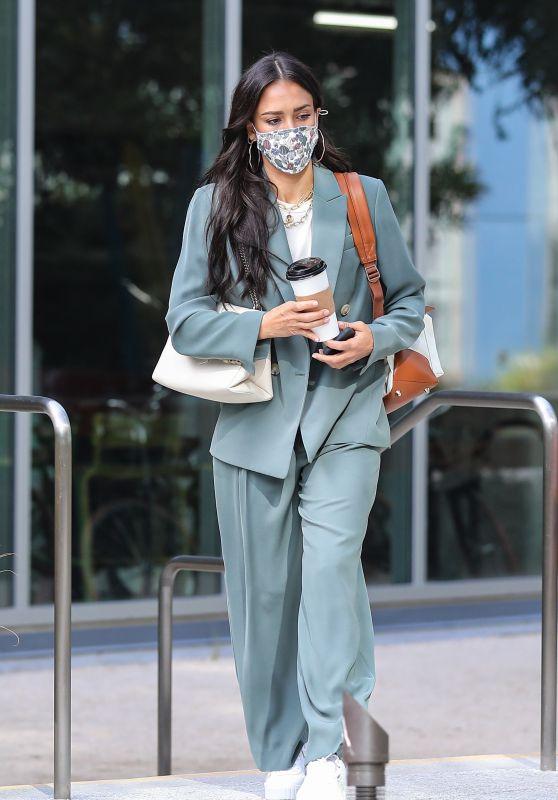 Jessica Alba - Out in Playa Vista 09/14/2021