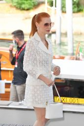Jessica Chastain - Arrives at the 78th Venice International Film Festival 09/04/2021