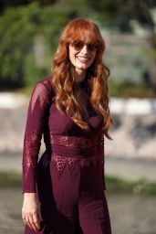 Jessica Chastain - Arrives at the 78th Venice International Film Festival in Venice 09/05/2021