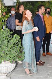 Jessica Chastain – Arriving at the Hotel Excelsior in Venice 09/02/2021