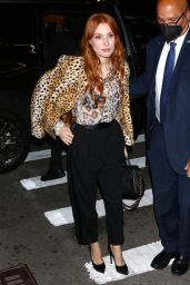 Jessica Chastain Night Out Style - NYC 09/17/2021