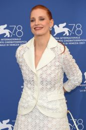 """Jessica Chastain - """"Scenes From A Marriage"""" Photocall at the 78th Venice Film Festival"""