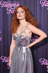 """Jessica Chastain - """"The Eyes Of Tammy Faye"""" Premiere in NYC"""