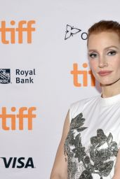 """Jessica Chastain - """"The Eyes Of Tammy Faye"""" Premiere in Toronto 09/12/2021"""