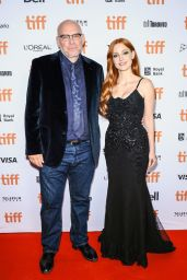"""Jessica Chastain - """"The Forgiven"""" Premiere at TIFF 09/11/2021"""