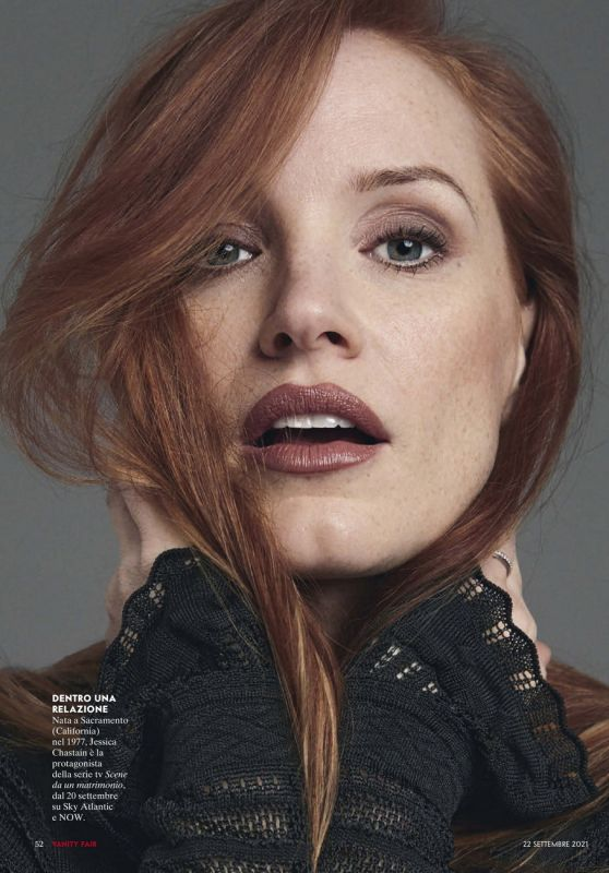 Jessica Chastain - Vanity Fair Italy 09/22/2021 Issue