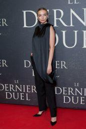 "Jodie Comer - ""The Last Duel"" Premiere in Paris"