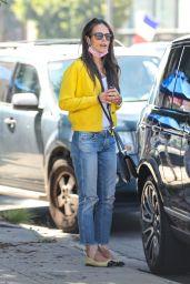 Jordana Brewster - Shopping in Hollywood 09/15/2021