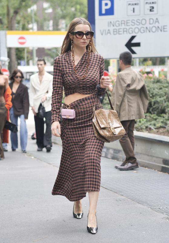 Julia Comil – Fendi Show at Milan Fashion Week 09/22/2021