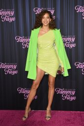 "Julia Mayorga – ""The Eyes of Tammy Faye"" Premiere in NYC 09/14/2021"