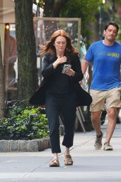 Julianne Moore - Out in NYC 09/20/2021