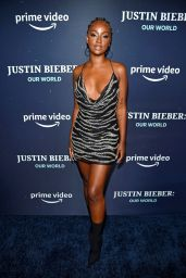 Justine Skye – JUSTIN BIEBER, OUR WORLD Special Screening Event in NY 09/14/2021