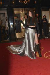 Kacey Musgraves on Her Way to Met Gala in NYC 09/13/2021