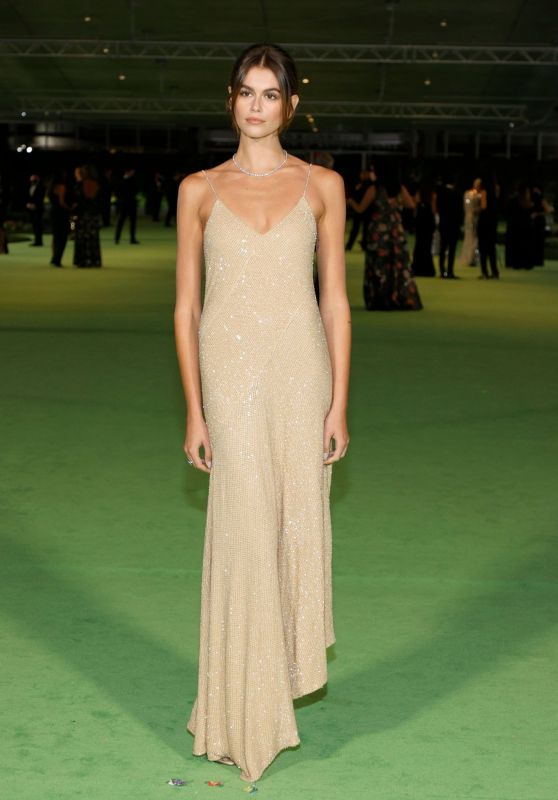 Kaia Gerber – The Academy Museum of Motion Pictures Opening Gala in LA 09/25/2021
