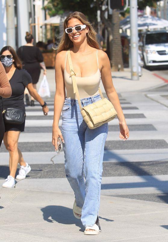 Kara Del Toro Street Style - Shopping in Beverly Hills 09/20/2021