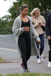 Karen Hauer - Out in London 09/27/2021