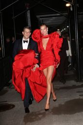 Karlie Kloss – Met Gala After Party at the Standard Hotel Boom Boom Room in NYC 09/13/2021