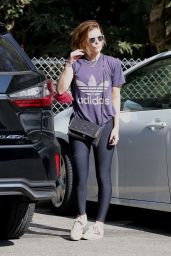 Kate Mara at Griffith Park in Los Feliz 09/07/2021
