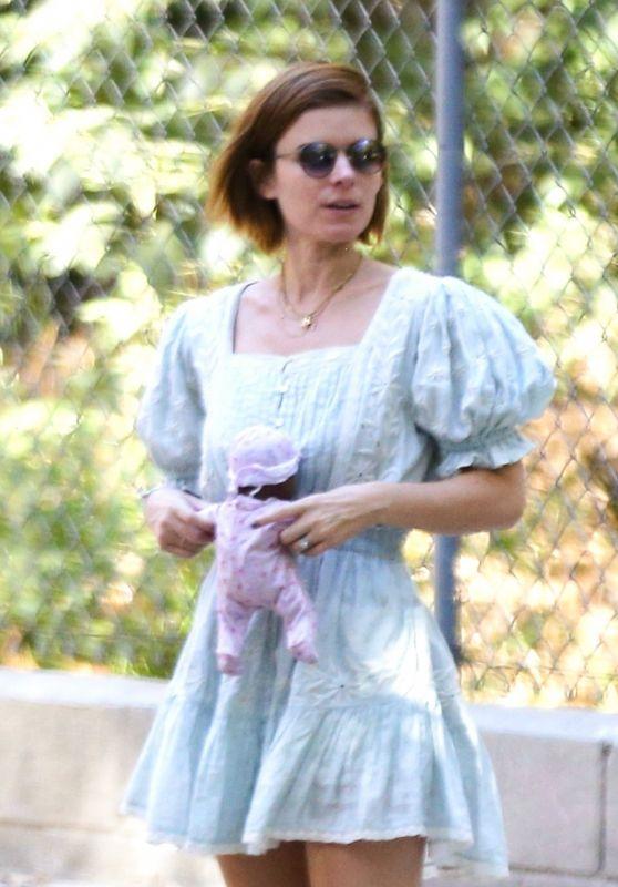 Kate Mara at the Park in Los Feliz 09/12/2021