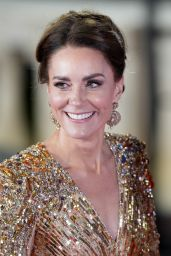 """Kate Middleton - """"No Time To Die"""" World Premiere in London"""