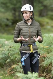 Kate Middleton - Visits the Windermere Adventure Training Centre With RAF Cadets 09/21/2021