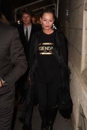 Kate Moss – Fendace Afterparty at Milan Fashion Week 09/26/2021