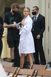 Kate Upton - Rehearses for Tory Burch SS22 at NYFW 09/12/2021