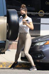 Katharine McPhee in Tights - West Hollywood 09/24/2021