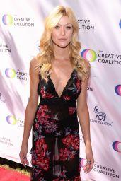 Katherine McNamara – Television Humanitarian Awards in LA 09/18/2021